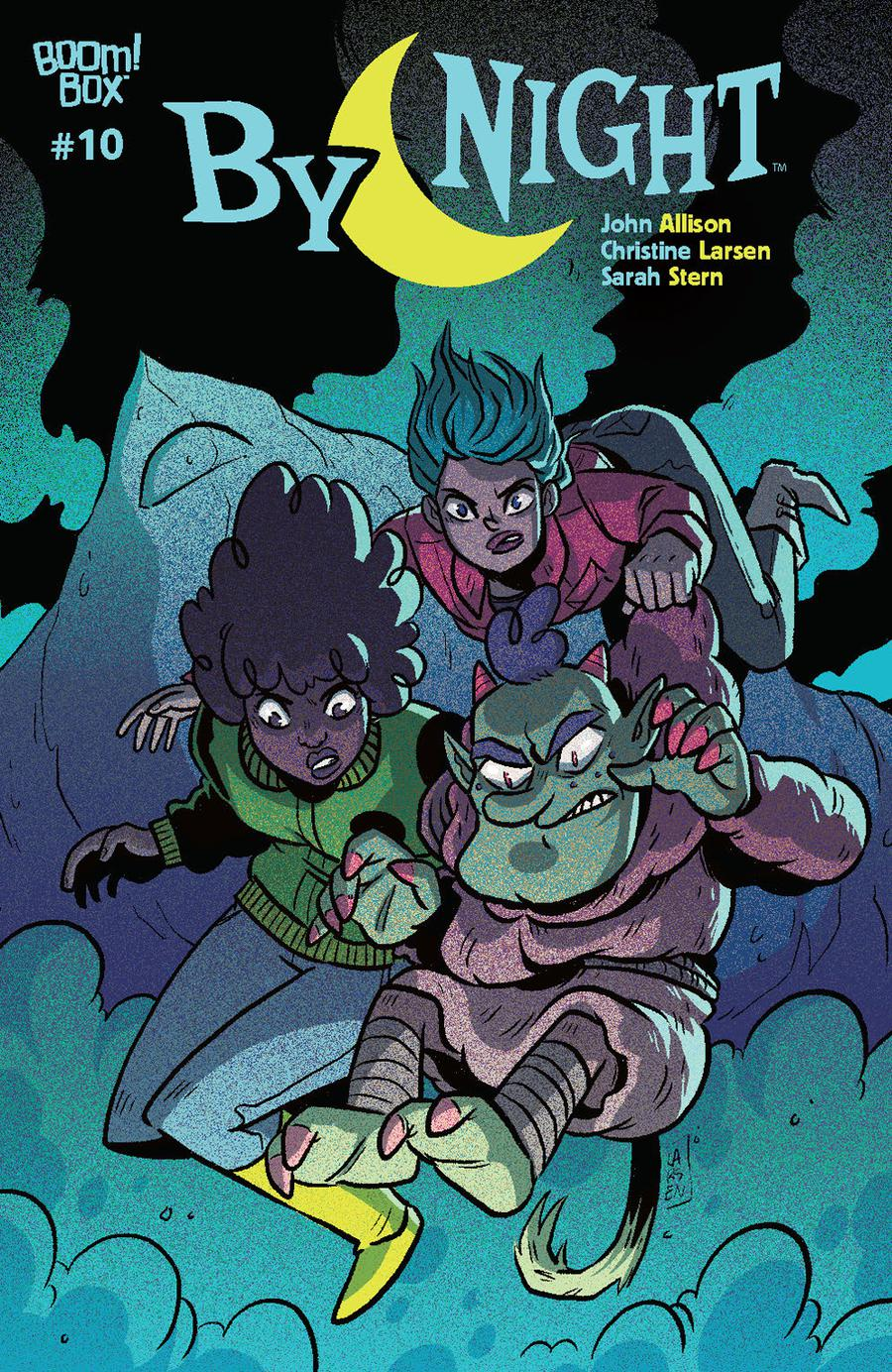 By Night #10 Cover A Regular Christine Larsen Cover