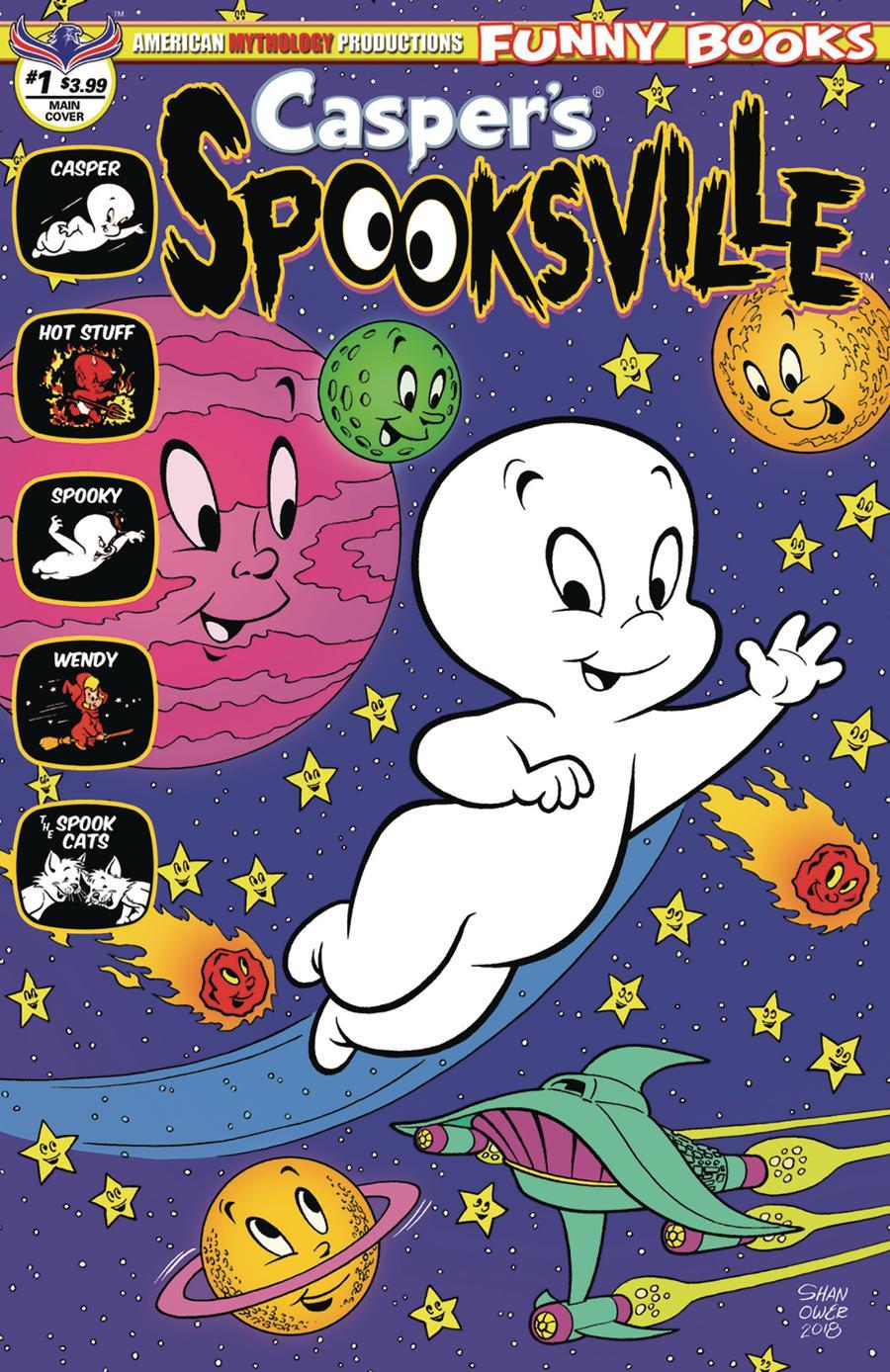 Caspers Spooksville #1 Cover A Regular Eric Shanower Cover
