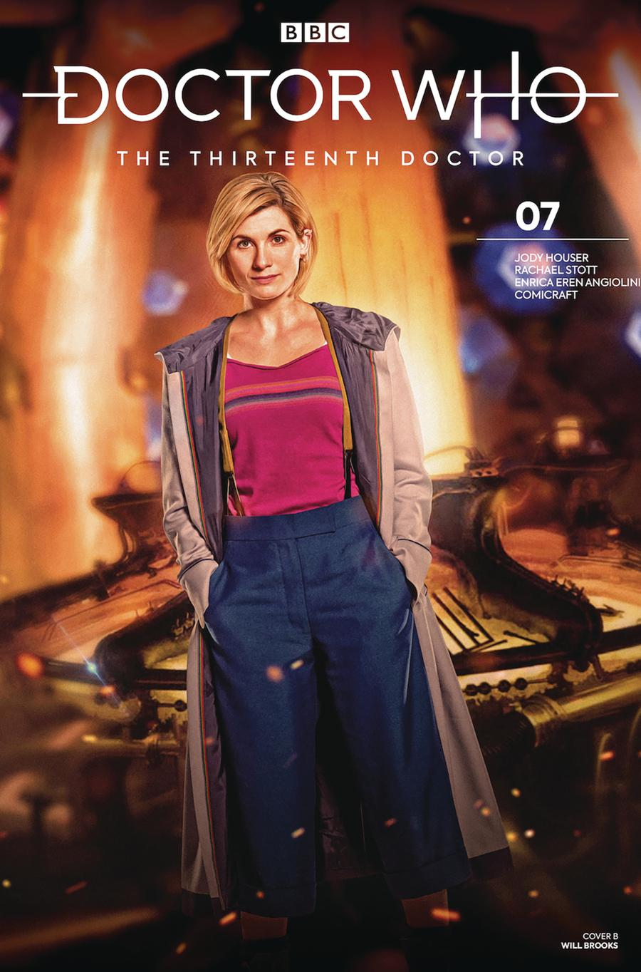 Doctor Who 13th Doctor #7 Cover B Variant Photo Cover