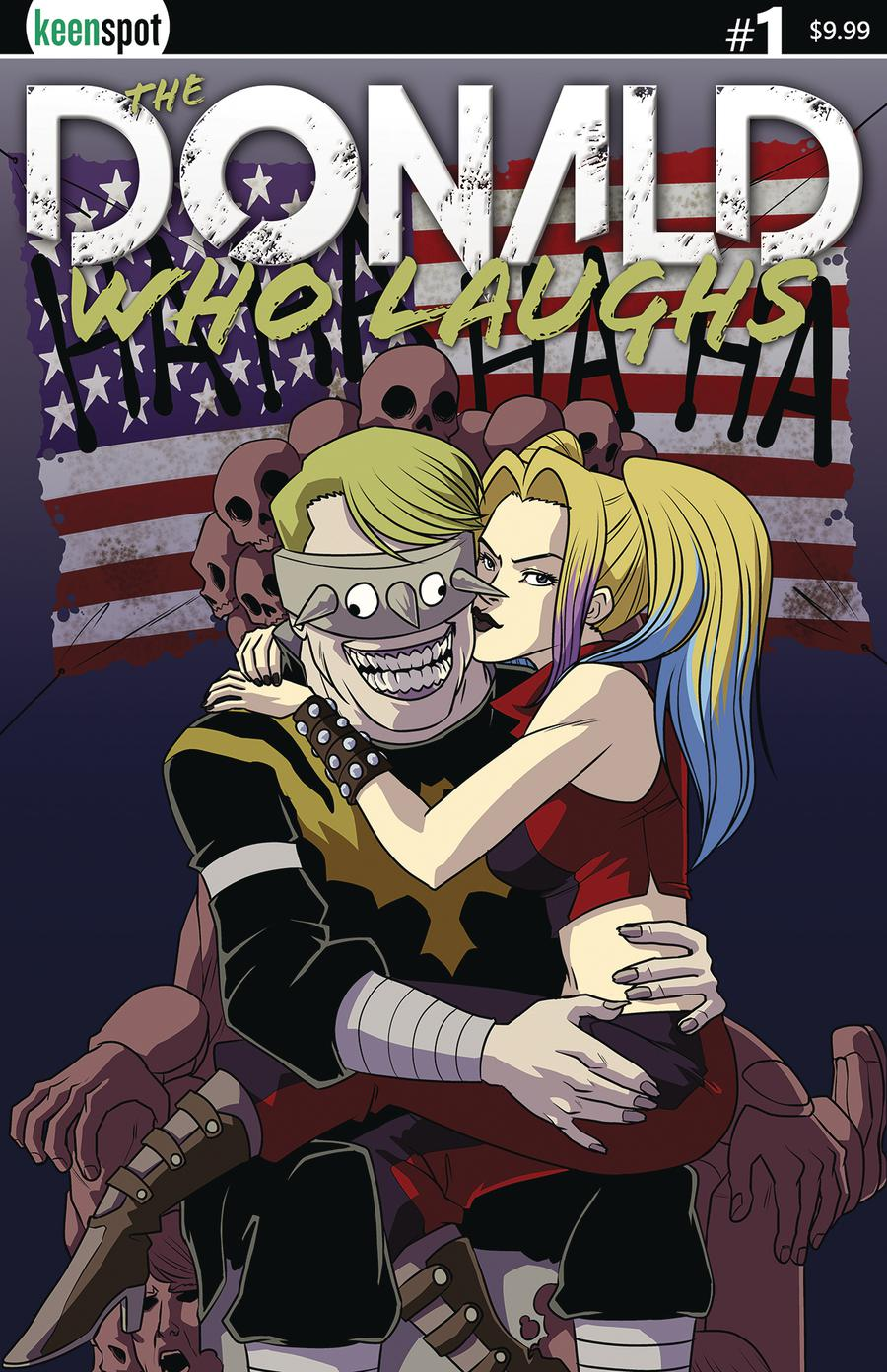 Donald Who Laughs #1 Cover B Variant Shawn Remulac Darkvanka Loves Daddy Cover