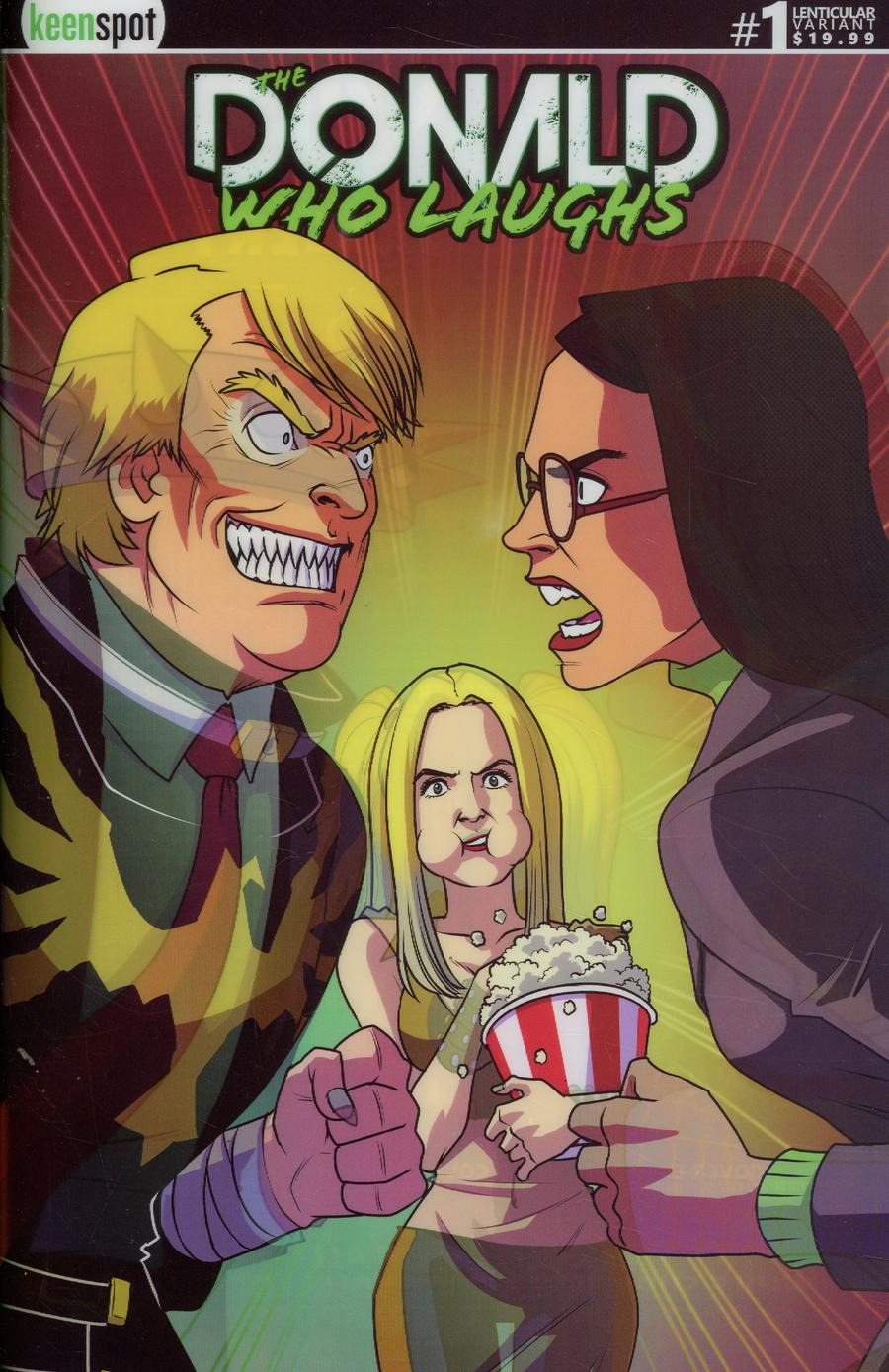 Donald Who Laughs #1 Cover E Variant Shawn Remulac Lenticular Cover