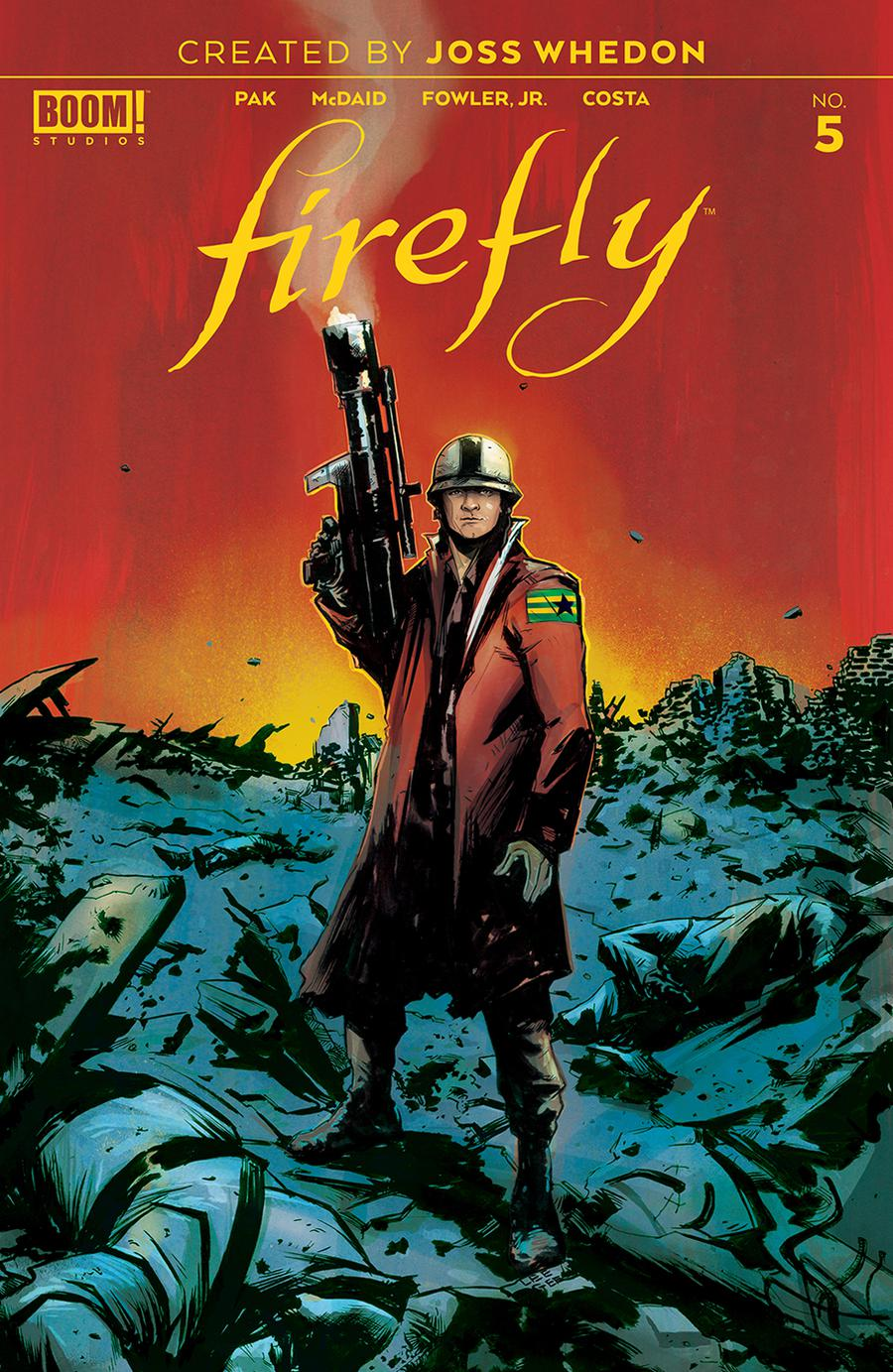 Firefly #5 Cover A 1st Ptg Regular Lee Garbett Cover