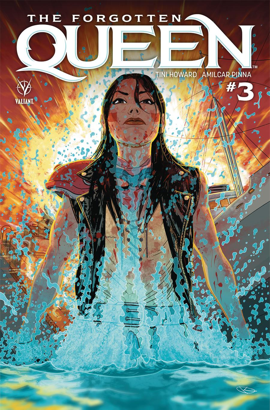 Forgotten Queen #3 Cover A Regular Kano Cover