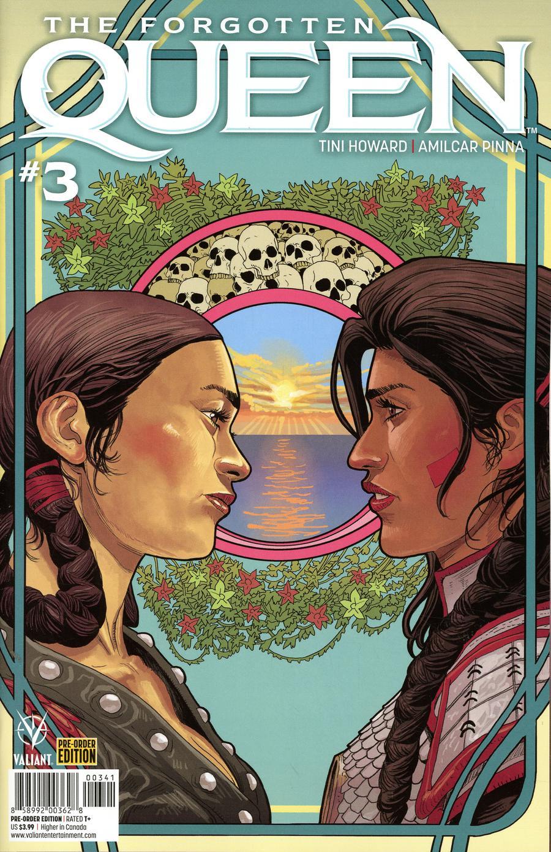 Forgotten Queen #3 Cover D Variant Amilcar Pinna Cover