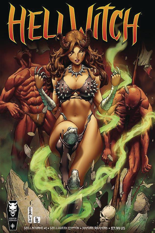 Hellwitch Hellbourne #1 Cover B Variant Mike Debalfo Hellqueen Cover