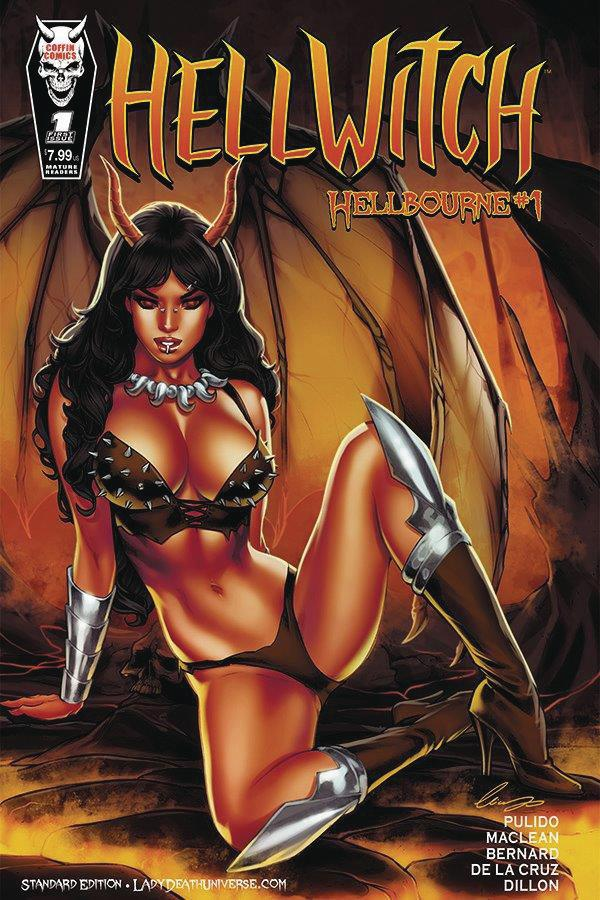 Hellwitch Hellbourne #1 Cover A Regular Elias Chatzoudis Cover