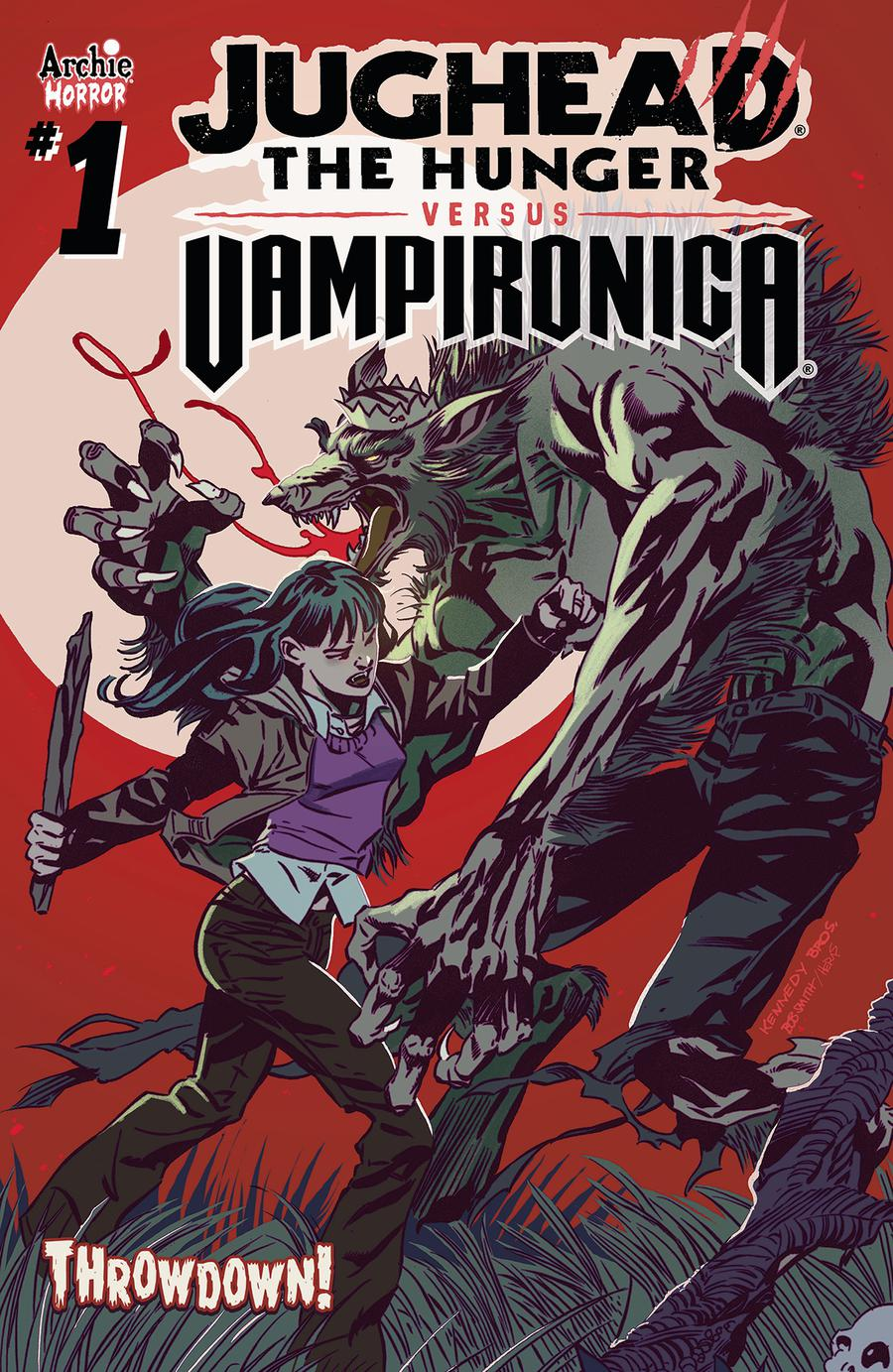 Jughead The Hunger Versus Vampironica #1 Cover A Regular Pat Kennedy & Tim Kennedy Cover