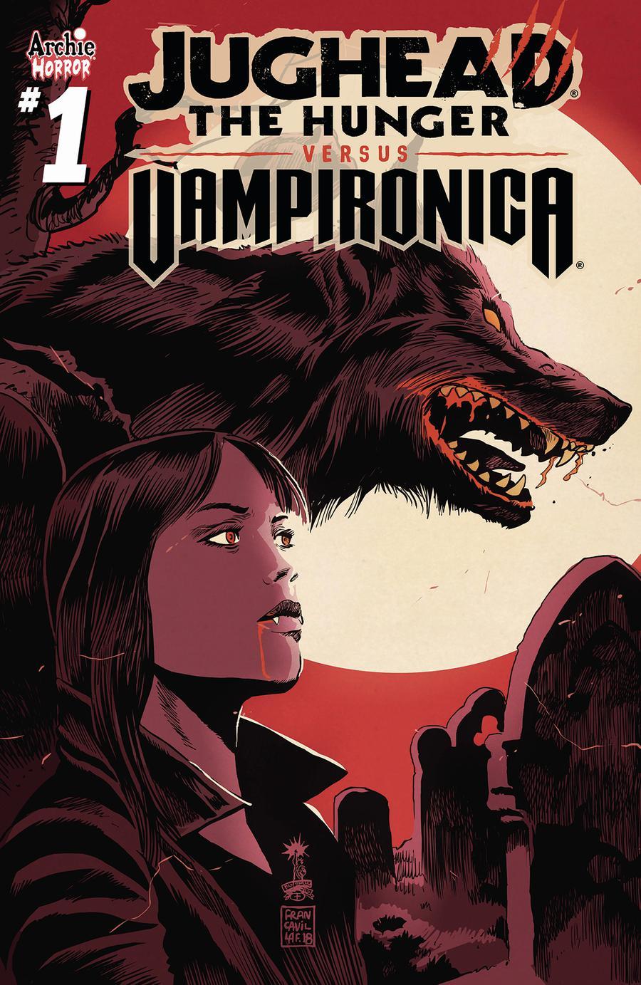 Jughead The Hunger Versus Vampironica #1 Cover B Variant Francesco Francavilla Cover