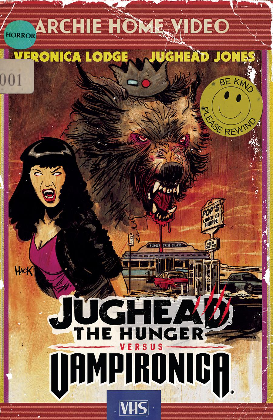 Jughead The Hunger Versus Vampironica #1 Cover C Variant Robert Hack Cover