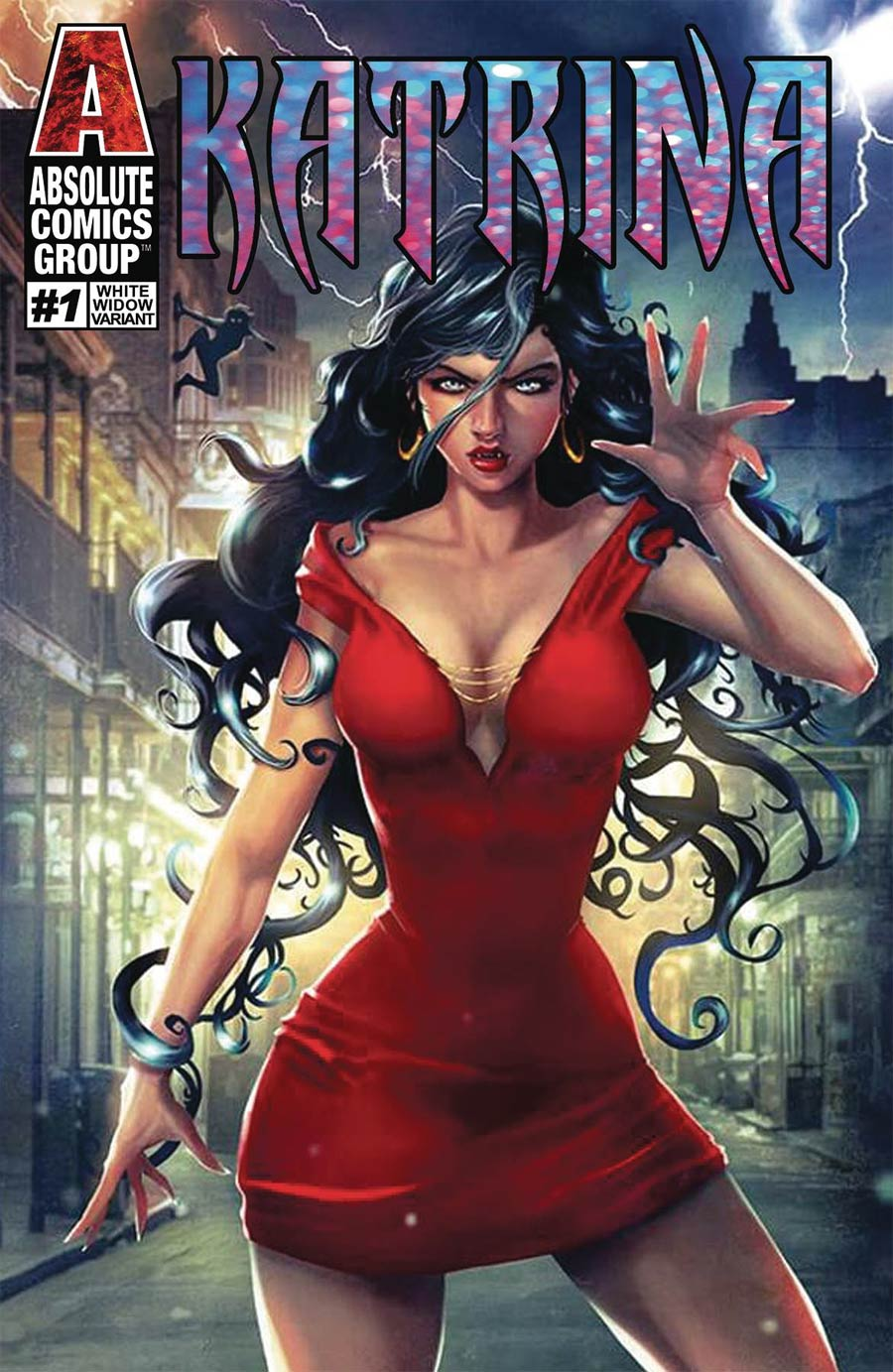 Katrina #1 Cover B Variant White Widow Cover