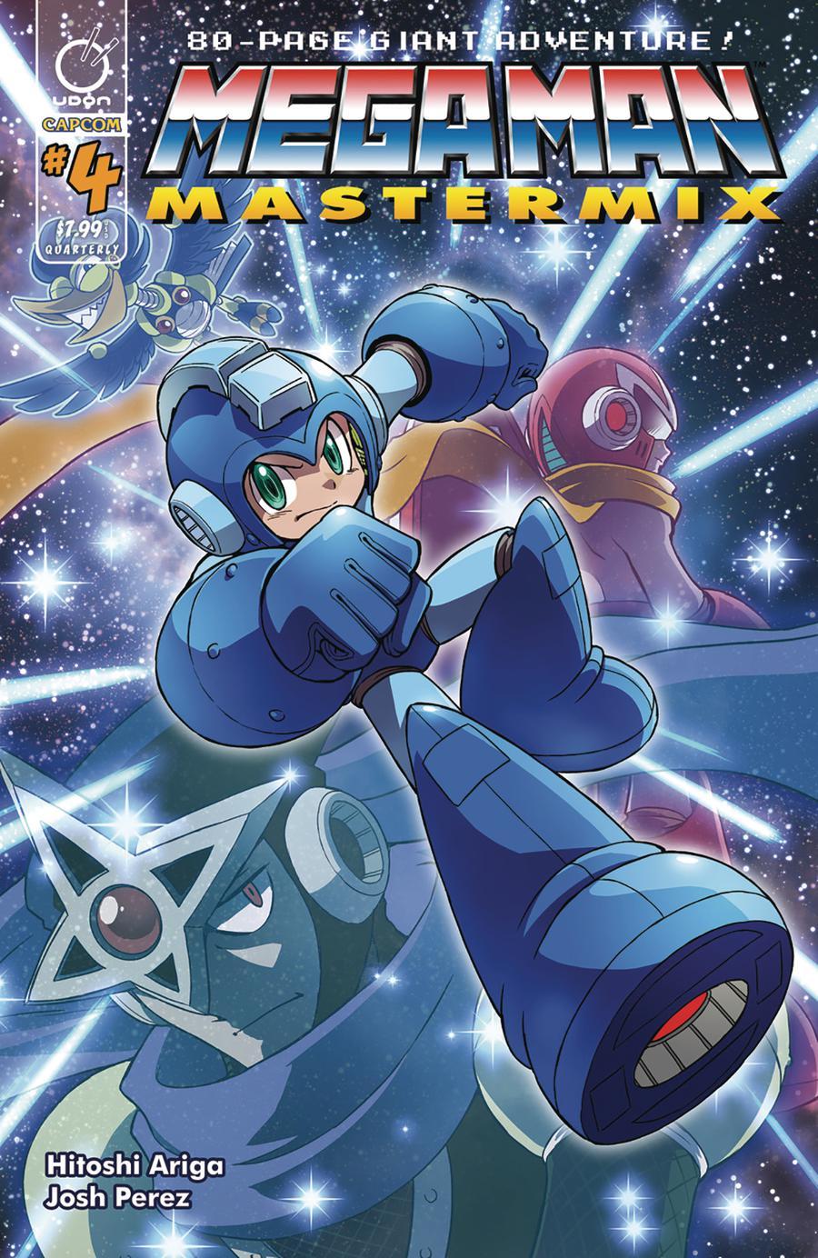 Mega Man Mastermix #4 Cover A Regular Hitoshi Ariga Cover