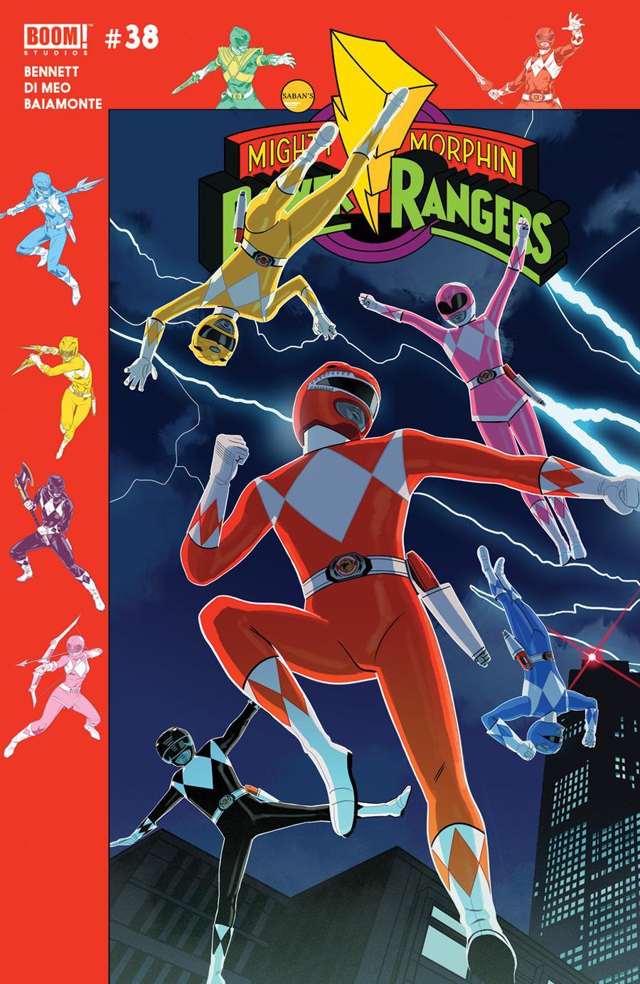 Mighty Morphin Power Rangers (BOOM Studios) #38 Cover B Variant Jordan Gibson Preorder Cover