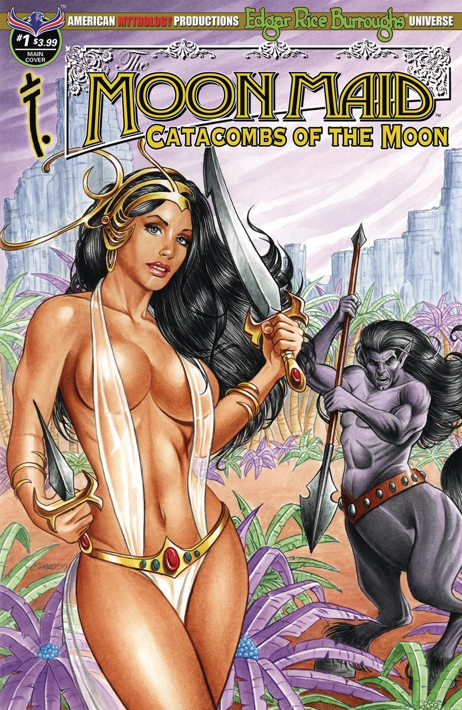 Moon Maid Catacombs Of The Moon #1 Cover A Regular Mark Sparacio Cover