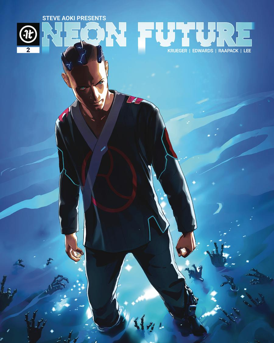 Neon Future #2 Cover C Variant Maciej Kuciara Cover