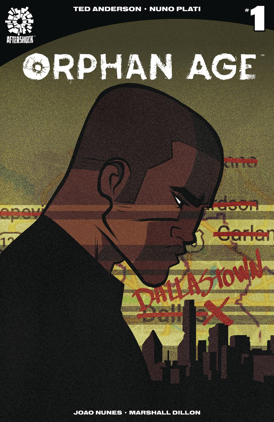 Orphan Age #1 Cover A 1st Ptg Regular Nuno Plati Cover