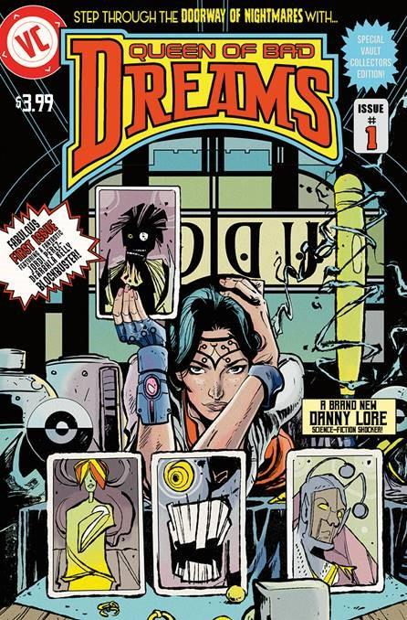 Queen Of Bad Dreams #1 Cover B Variant Nathan Gooden Cover