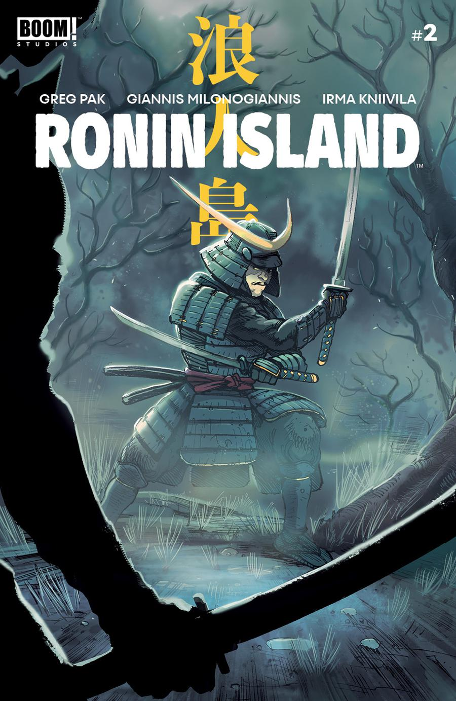 Ronin Island #2 Cover A 1st Ptg Regular Giannis Milonogiannis Cover