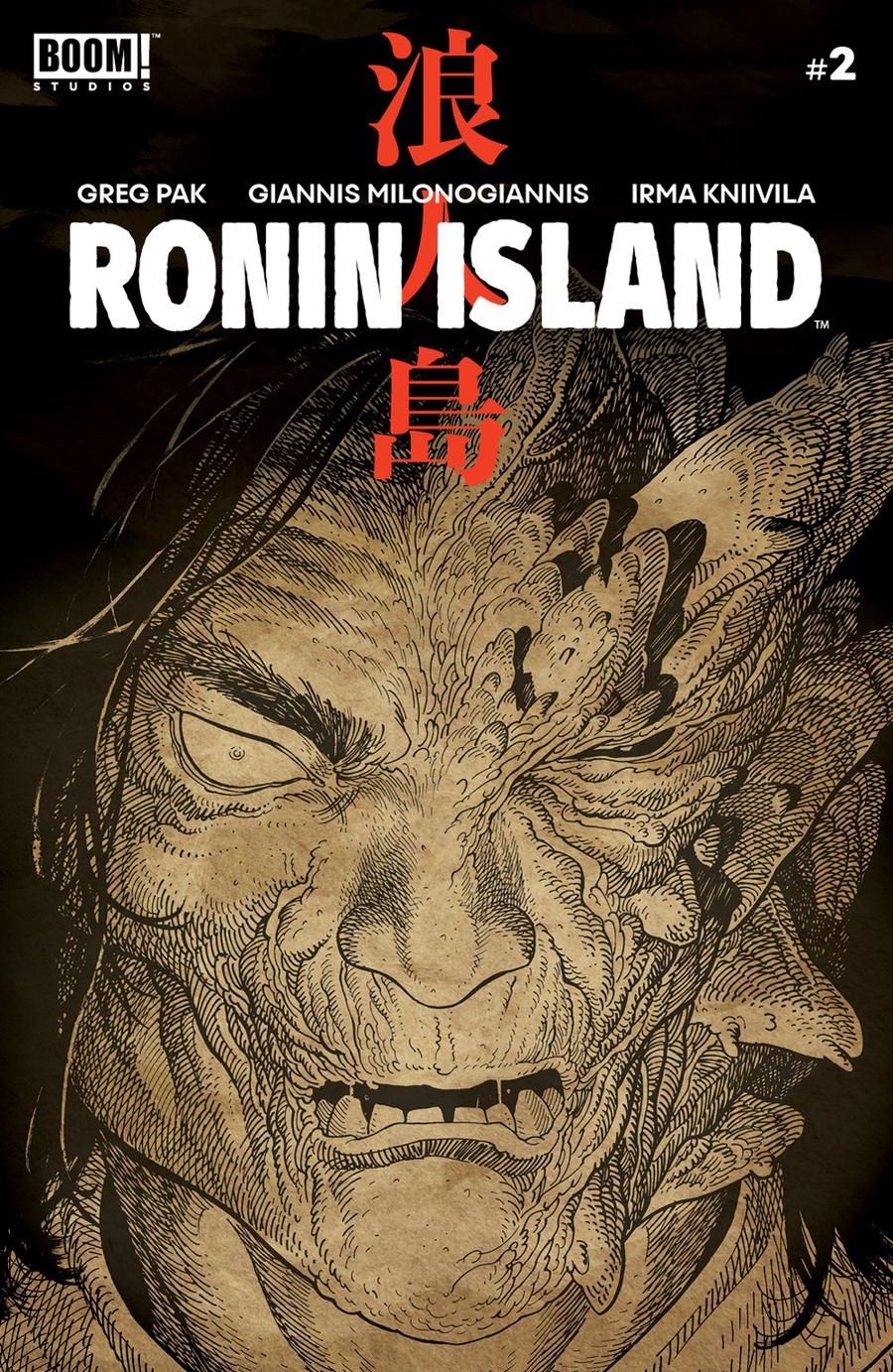 Ronin Island #2 Cover B Variant Ethan Young Preorder Cover