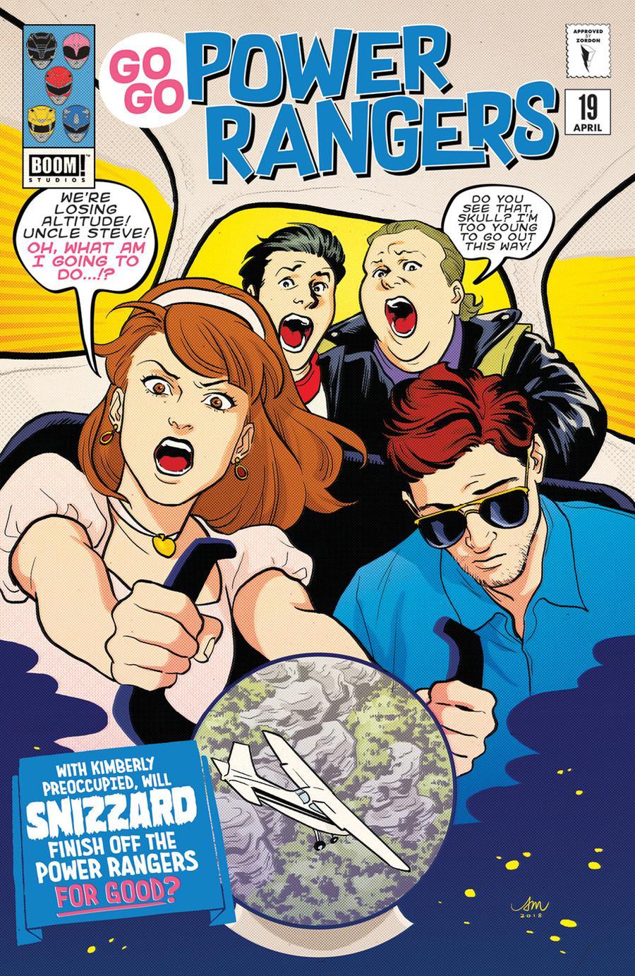 Sabans Go Go Power Rangers #19 Cover C Variant Audrey Mok Preorder Cover