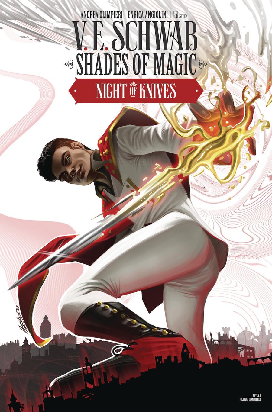 Shades Of Magic #5 Night Of Knives Cover A Regular Claudia Ianniciello Cover