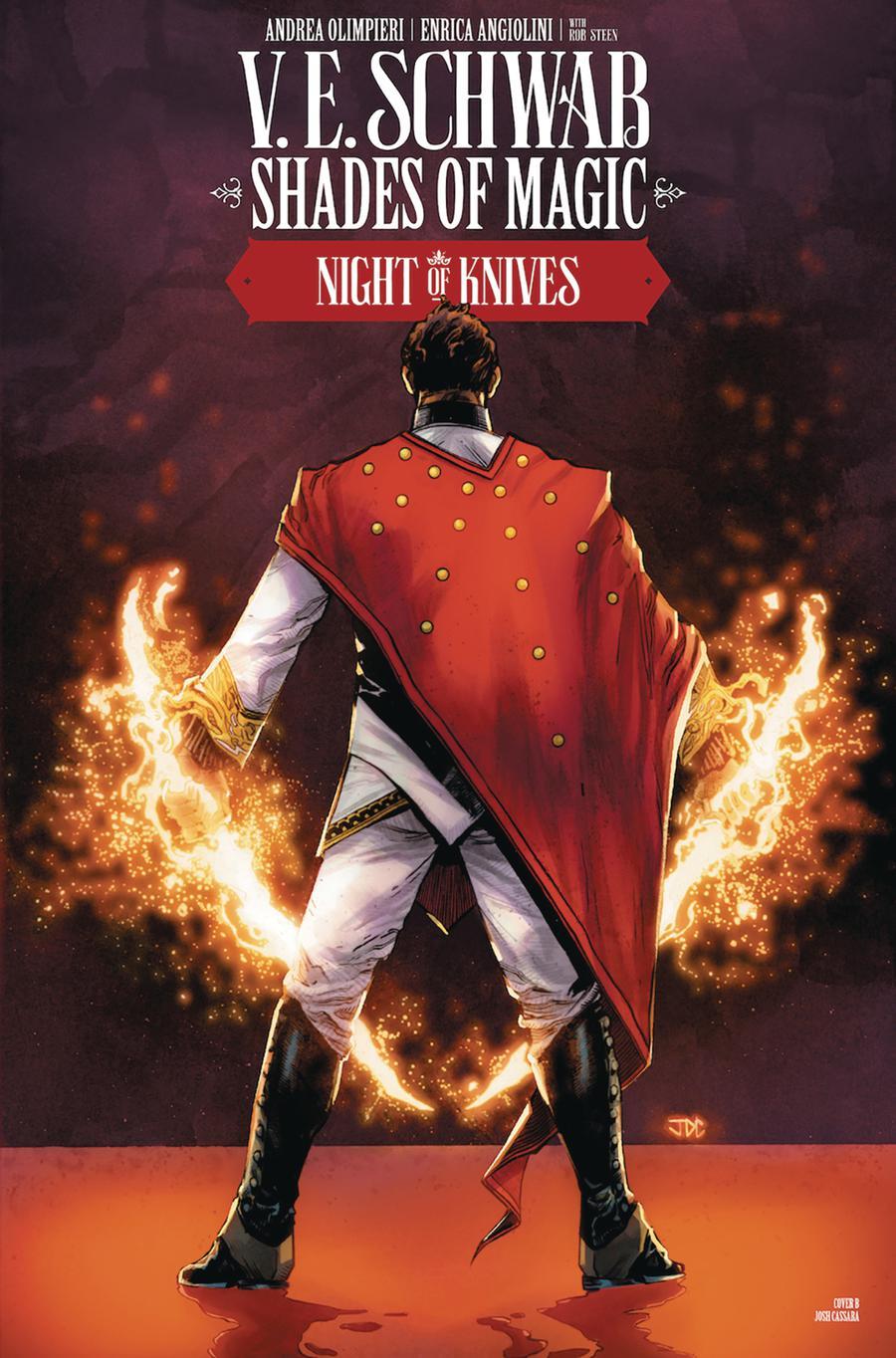 Shades Of Magic #5 Night Of Knives Cover B Variant Josh Cassara Cover
