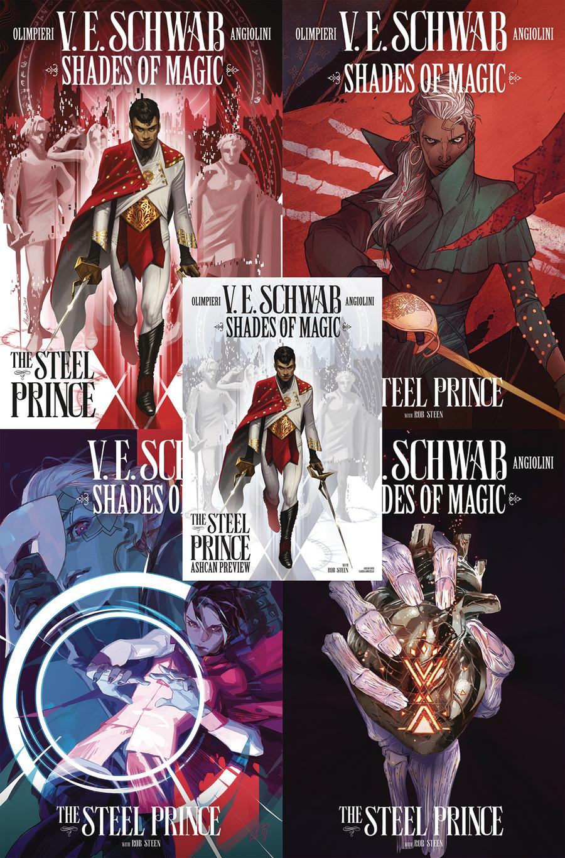Shades Of Magic Steel Prince Comic Pack - Midtown Comics