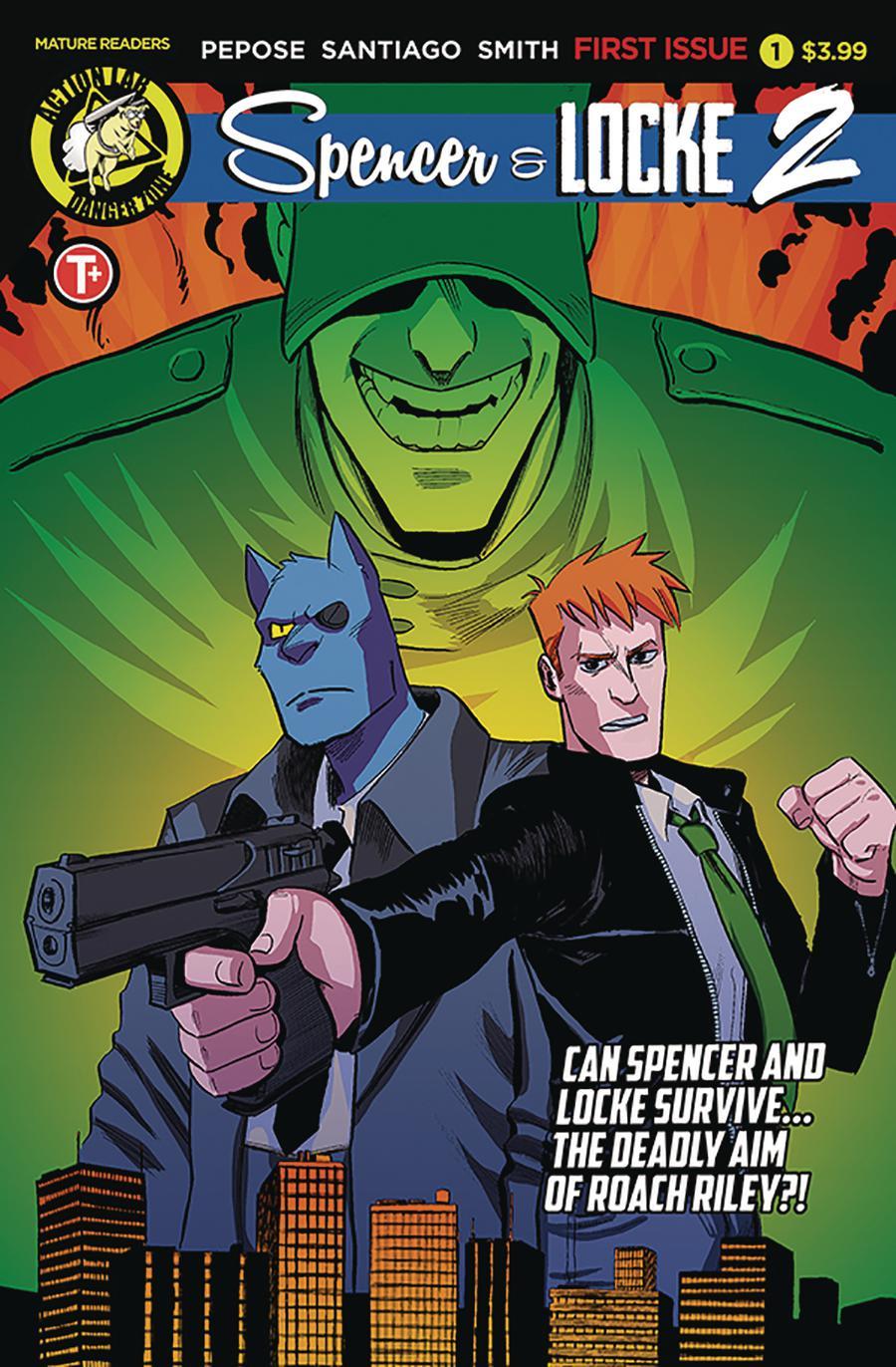 Spencer & Locke Vol 2 #1 Cover A Regular Jorge Santiago Jr Cover