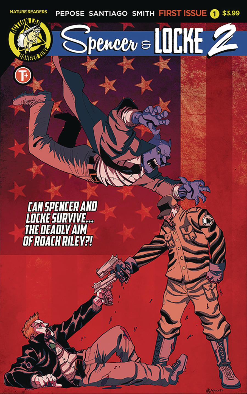 Spencer & Locke Vol 2 #1 Cover C Variant Joe Mulvey Cover