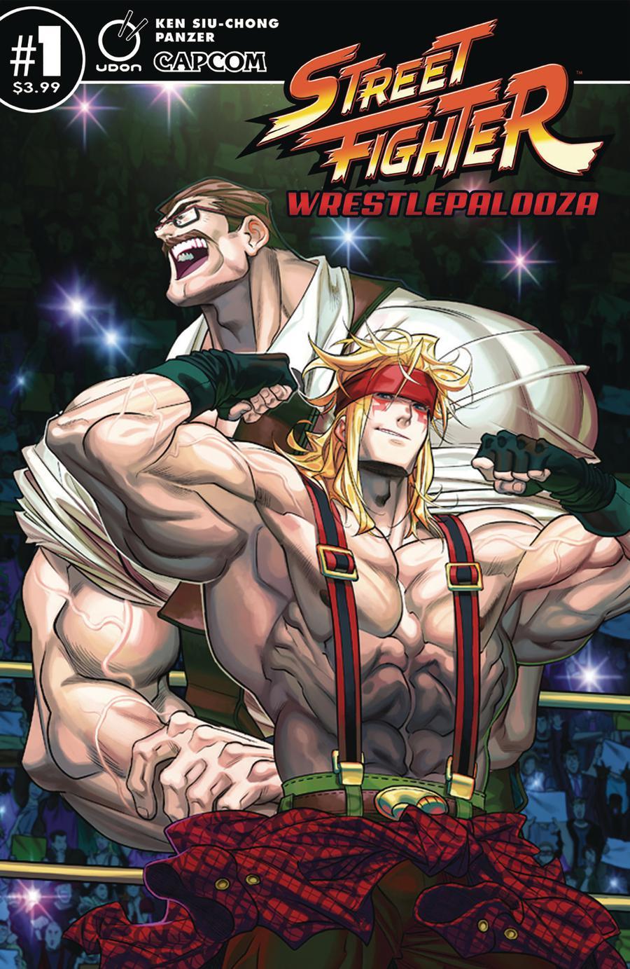 Street Fighter Wrestlepalooza #1 Cover A Regular Panzer Cover