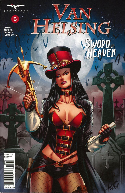 Grimm Fairy Tales Presents Van Helsing Sword Of Heaven #6 Cover C Alfredo Reyes