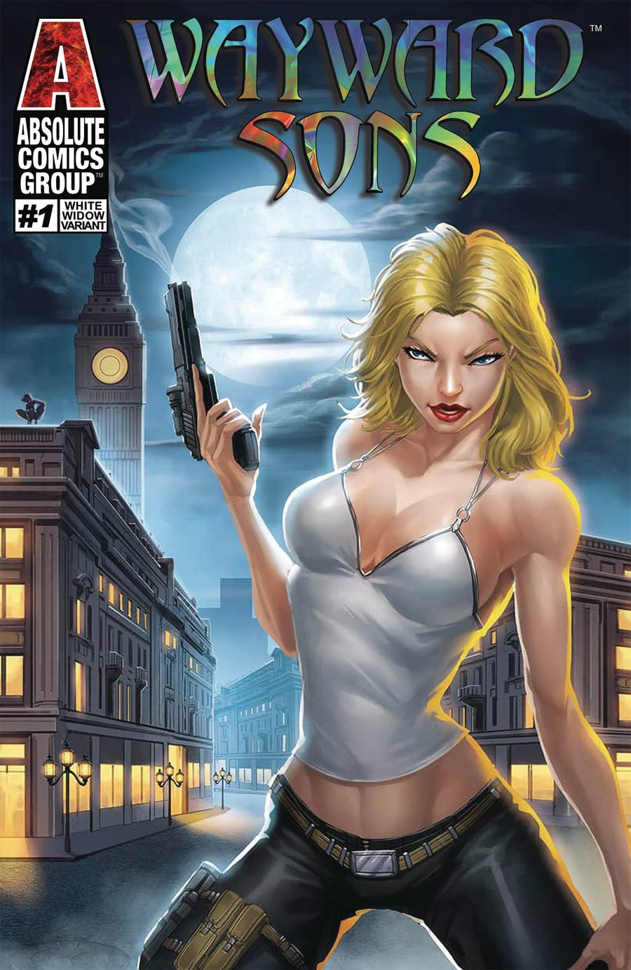 Wayward Sons #1 Cover B Variant White Widow Cover