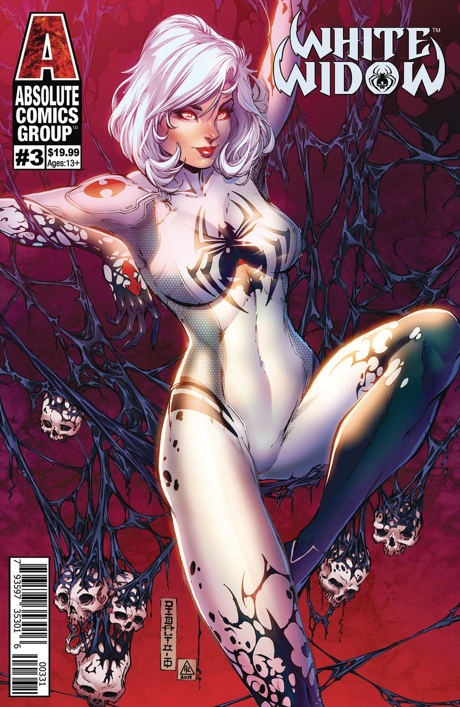 White Widow #3 Cover C Variant Mike Debalfo Lenticular Cover
