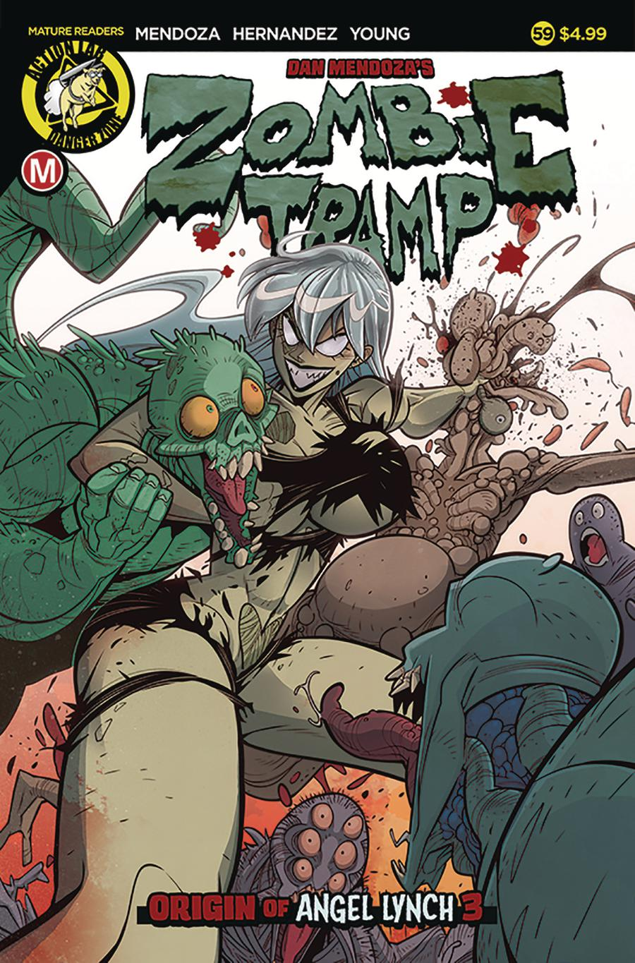 Zombie Tramp Vol 2 #59 Cover A Regular Marco Maccagni Cover