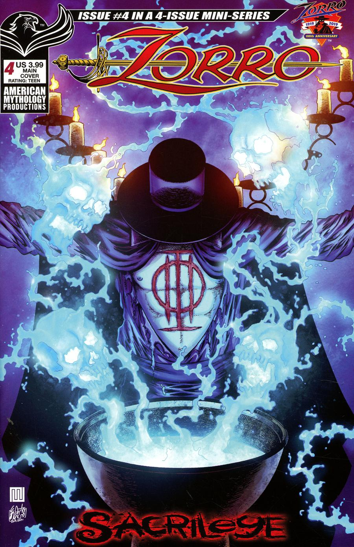 Zorro Sacrilege #4 Cover A Regular Mike Wolfer Color Cover
