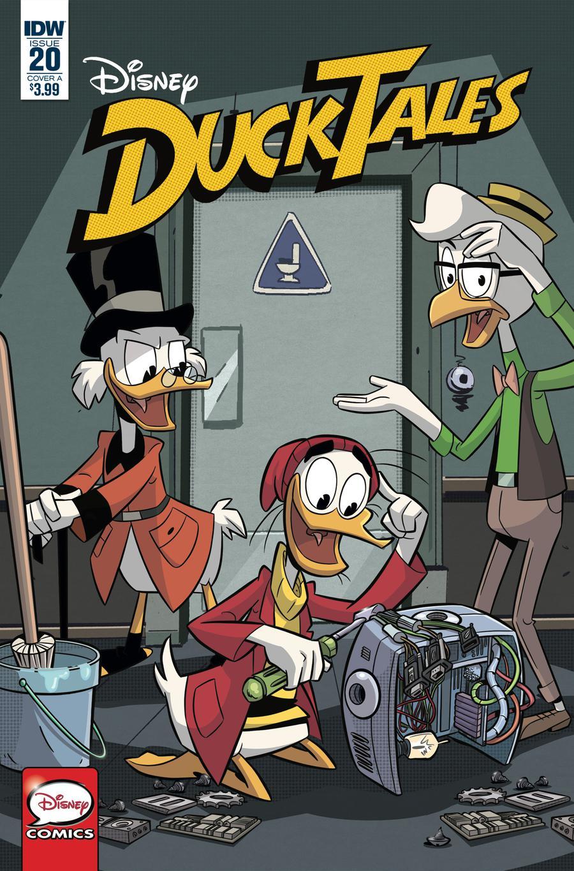 Ducktales Vol 4 #20 Cover A Regular Cover