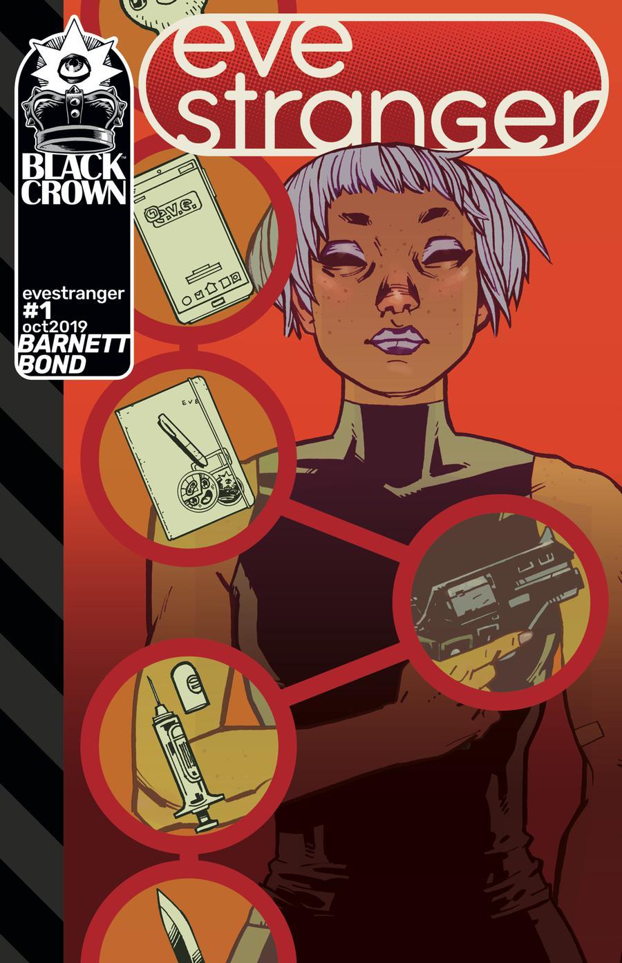 Eve Stranger #1 Cover A Regular Philip Bond Cover
