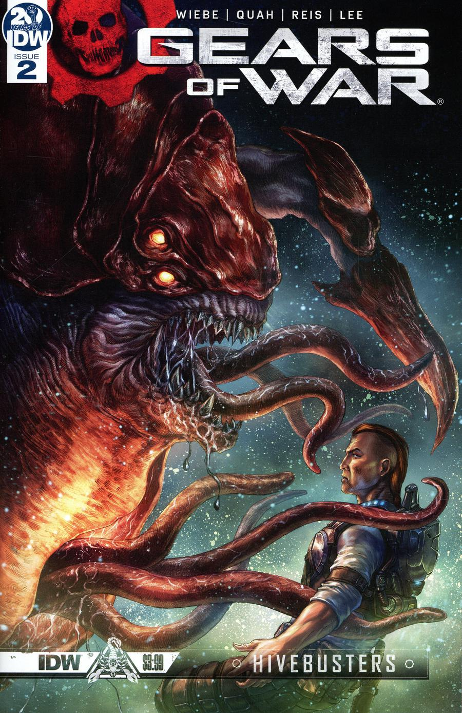 Gears Of War Hivebusters #2 Cover A Regular Alan Quah Cover