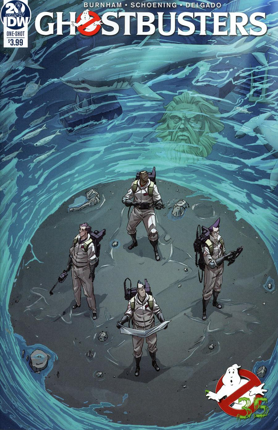 Ghostbusters 35th Anniversary Ghostbusters Cover A Regular Dan Schoening Cover