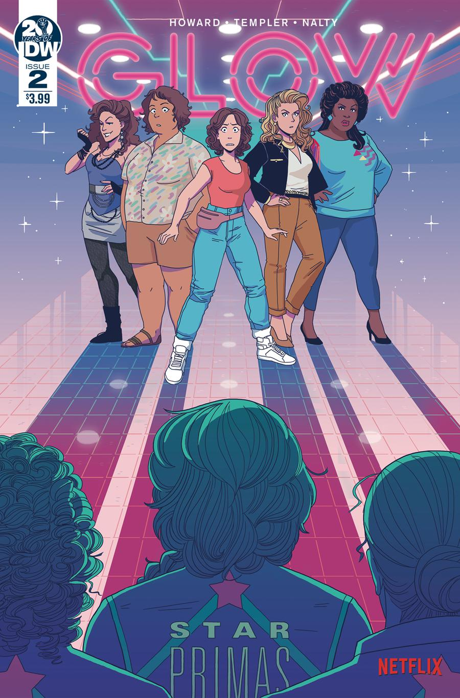 GLOW #2 Cover A Regular Hannah Templer Cover