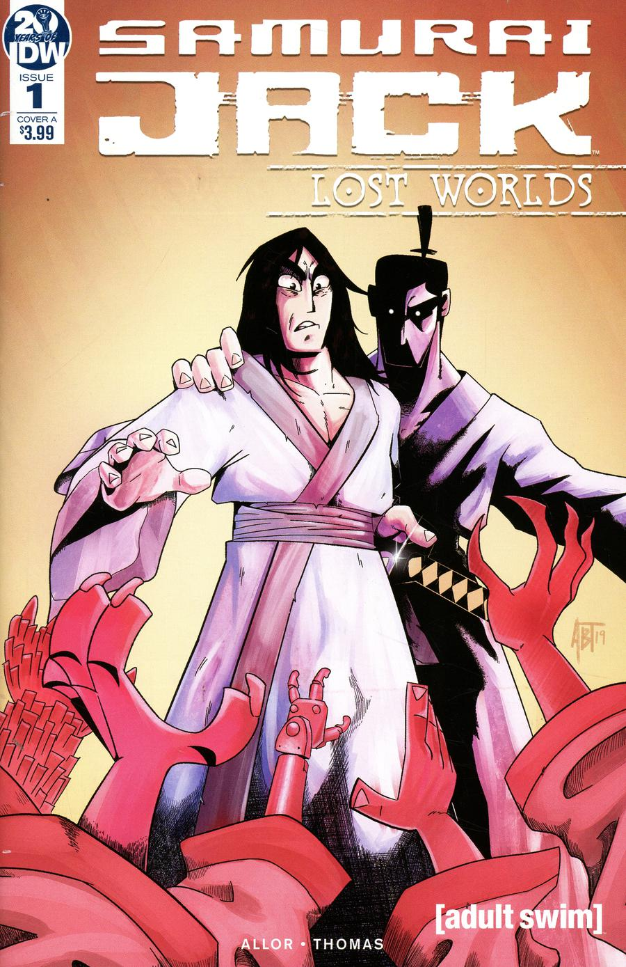 Samurai Jack Lost Worlds #1 Cover A Regular Adam Bryce Thomas Cover