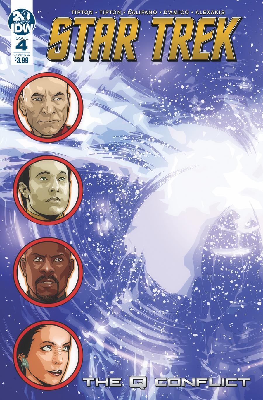 Star Trek Q Conflict #4 Cover A Regular David Messina Cover