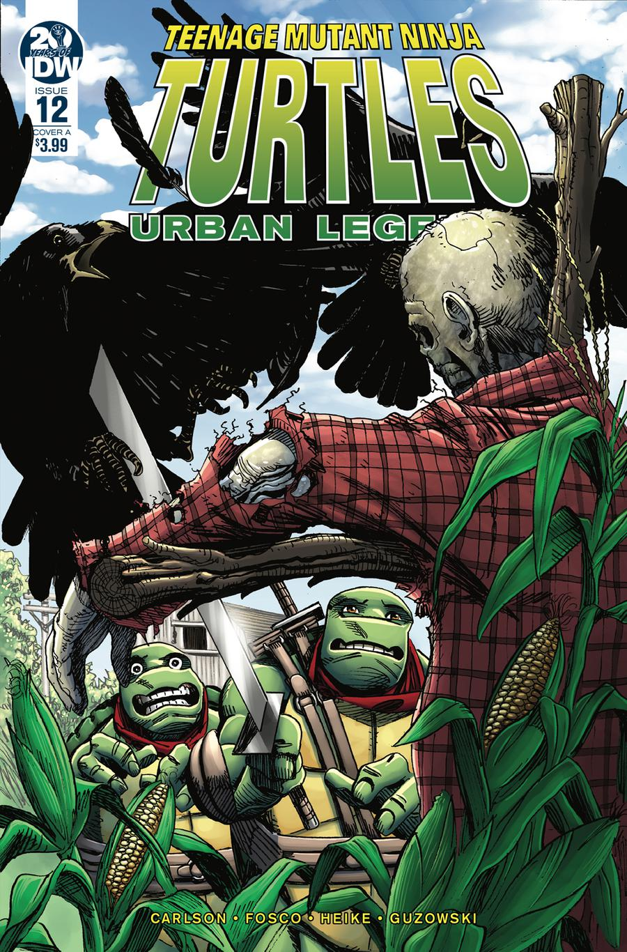 Teenage Mutant Ninja Turtles Urban Legends #12 Cover A Regular Frank Fosco Cover