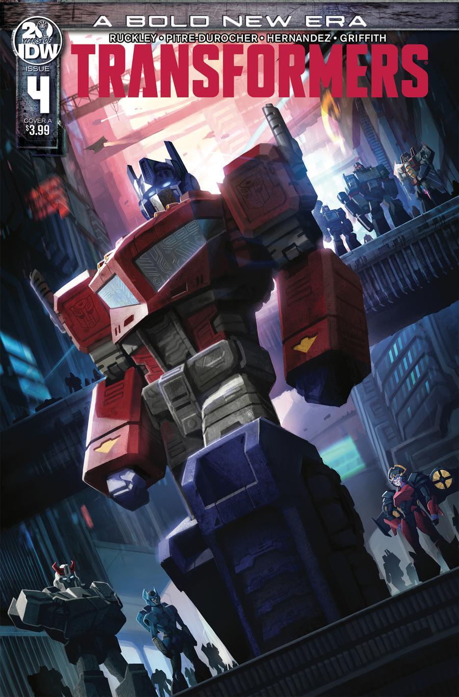 Transformers Vol 4 #4 Cover A 1st Ptg Regular Sara Pitre-Durocher Cover