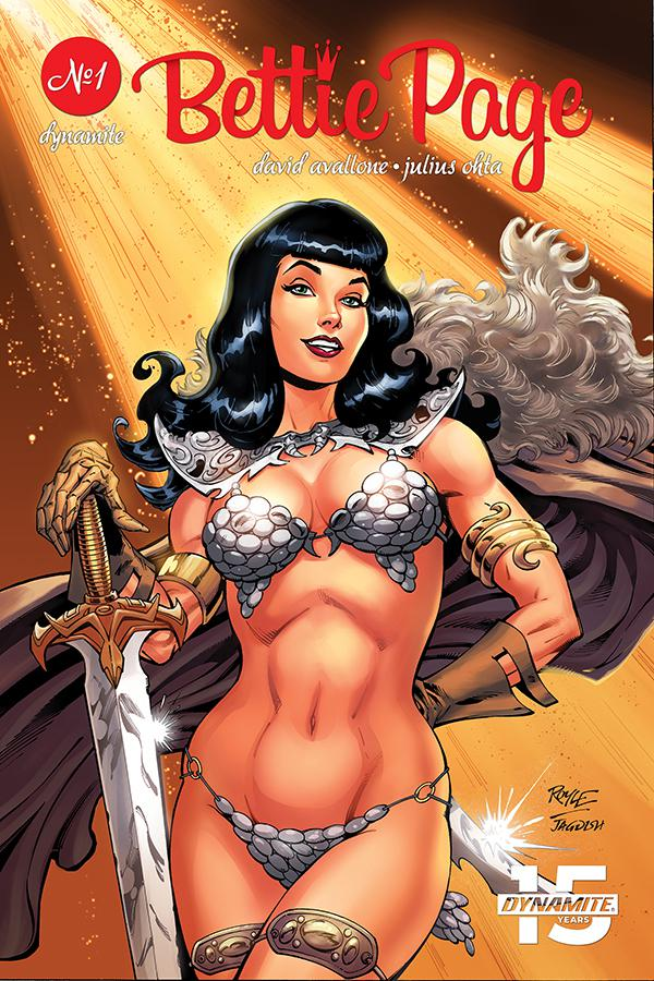 Bettie Page Unbound #1 Cover A Regular John Royle Cover
