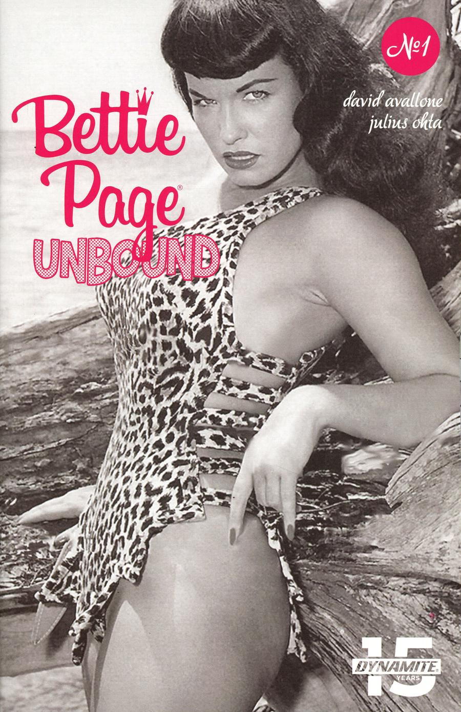 Bettie Page Unbound #1 Cover E Variant Photo Cover