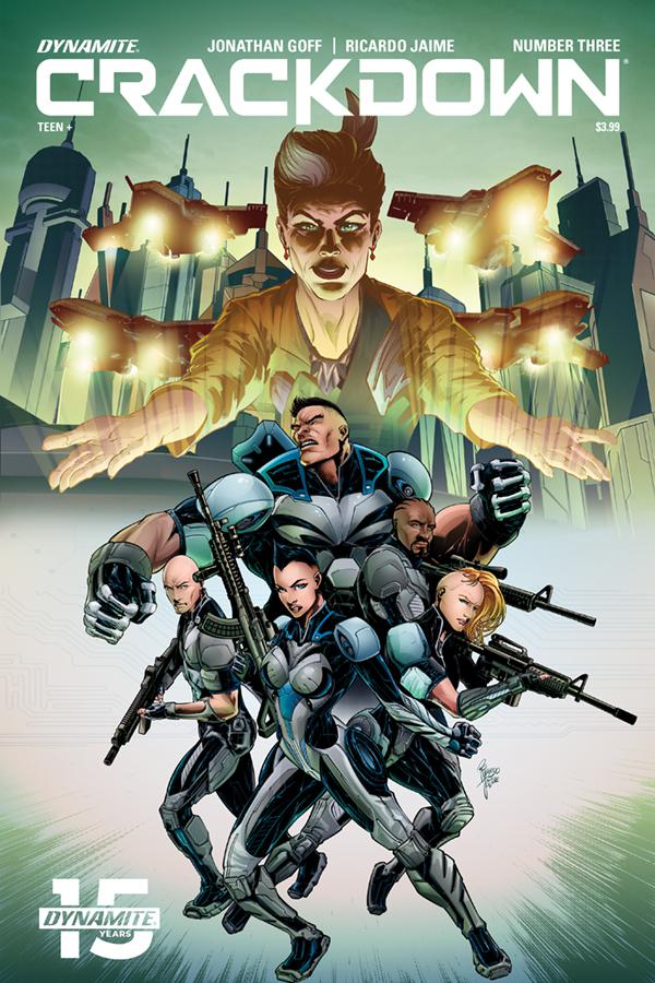 Crackdown #3 Cover A Regular Ricardo Jaime Cover