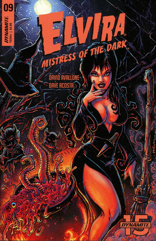 Elvira Mistress Of The Dark Vol 2 #9 Cover A Regular Kevin Eastman Cover
