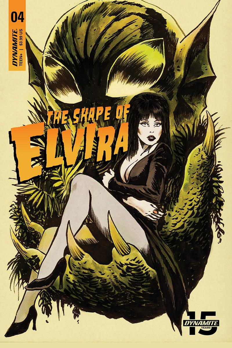 Elvira Shape Of Elvira #4 Cover A Regular Francesco Francavilla Cover