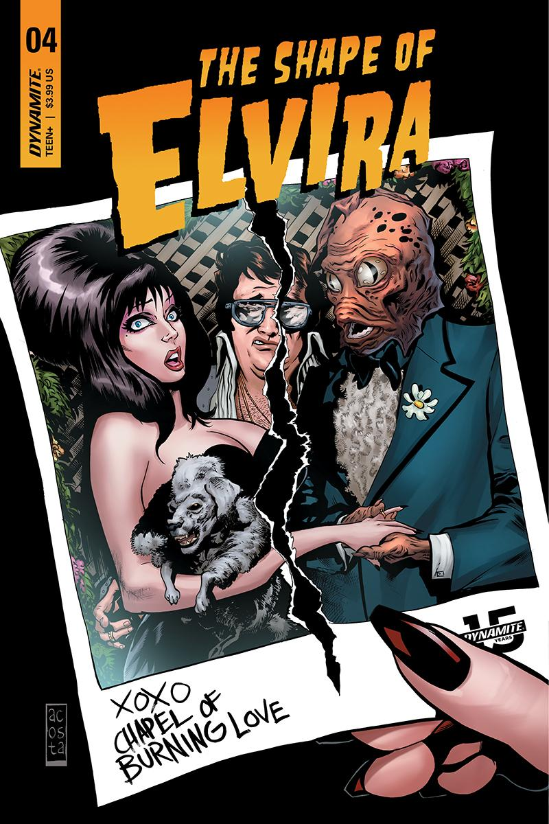 Elvira Shape Of Elvira #4 Cover C Variant Dave Acosta Cover