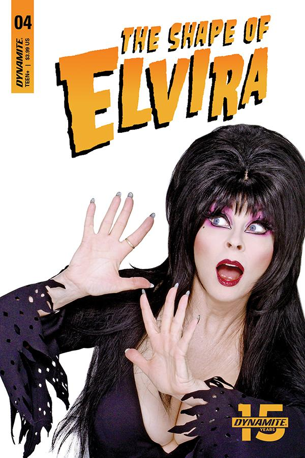 Elvira Shape Of Elvira #4 Cover D Variant Photo Cover